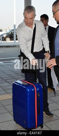 Osaka, Japan, on November 19, 2014. 19th Nov, 2014. Javier Aguirre (JPN) Football/Soccer : head coach of Japanese - Stock Photo
