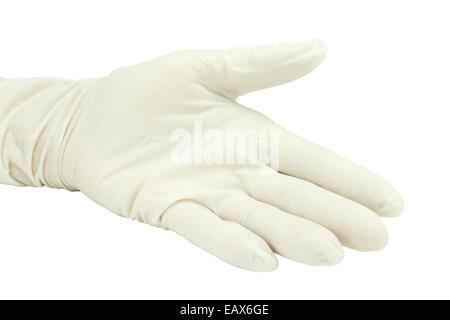 Gloves on white background - Stock Photo