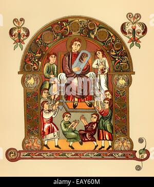 David King Of Israel And Judah Circa 1004 965 Bc Sent