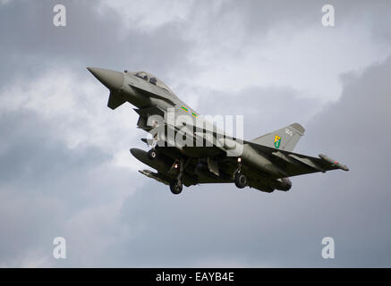 Eurofighter Typhoon FRG4 Military Fast Jet Fighter.  SCO 9168 - Stock Photo