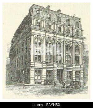 US-MA(1891) p378 BOSTON, MERCHANT'S NATIONAL BANK - Stock Photo