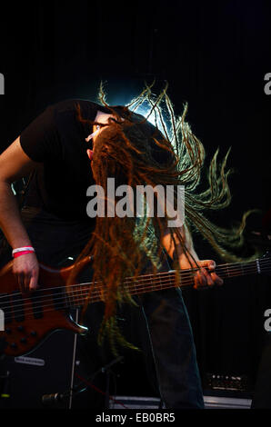 Johan van Stratum of Stream Of Passion performing at  2014 Festival of Liberty Roermond Netherlands - Stock Photo