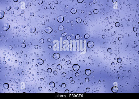 drop water on window - Stock Photo