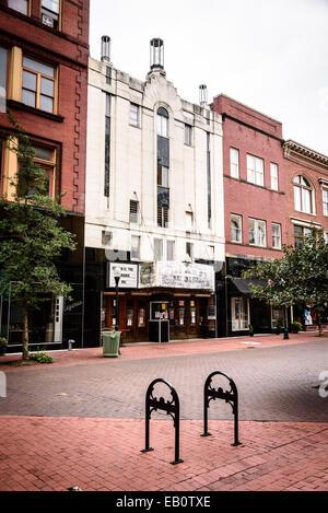 New Embassy Theatre, 49 Baltimore Street, Cumberland, Maryland - Stock Photo