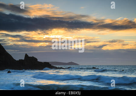 Portwrinkle First Light - Stock Photo