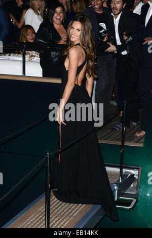 The 67th Annual Cannes Film Festival - Roberto Cavalli Boat Party  Featuring: Izabel Goulart Where: Cannes, France - Stock Photo