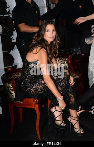 The 67th Annual Cannes Film Festival - Roberto Cavalli Boat Party  Featuring: Claudia Galanti Where: Cannes, France - Stock Photo