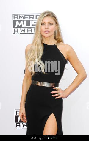 Los Angeles, California, USA. 23rd Nov, 2014. Fergie American Music Awards 2014 23/11/2014 Los Angeles Credit:  - Stock Photo