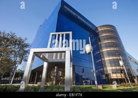 Pacific Design Center (PDC), West Hollywood, California, USA - Stock Photo