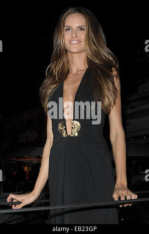 Izabel Goulart on Roberto Cavalli Boat Party  Featuring: Izabel Goulart Where: Cannes, France When: 22 May 2014 - Stock Photo