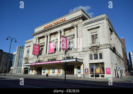 Empire Theatre on Lime Street in Liverpool, UK. - Stock Photo
