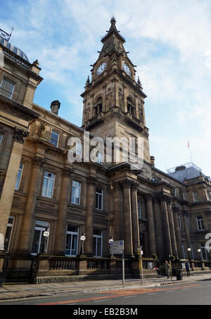 Municipal Buildings on Dale Street in Liverpool city centre. - Stock Photo