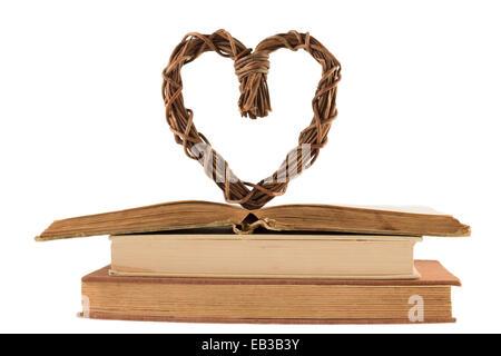 Love old books - Stock Photo