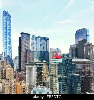 USA, New York State, New York City, View of cityscape - Stock Photo