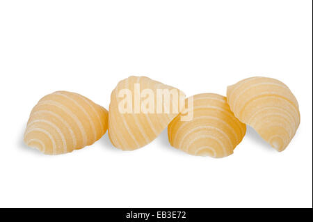 Group of conchiglie italian pasta - Stock Photo