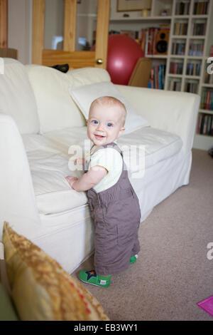 Baby cruising - Stock Photo