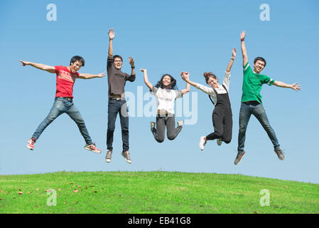 Friendship Happiness Summer Holidays Concept Vacation Happy People