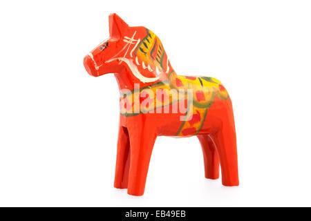 Swedish Dala horse - Stock Photo
