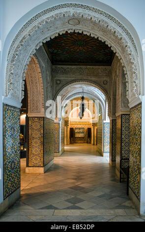 Tunisia, Tunis, the Del Bardo museum - Stock Photo