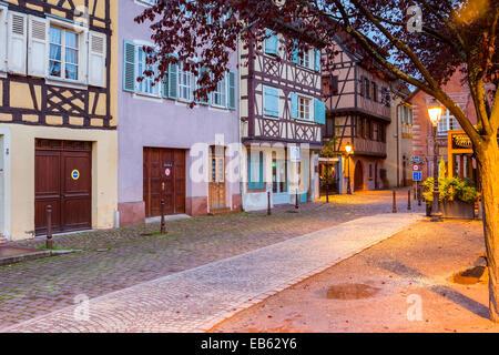 Petite Venice, Colmar, Alsace, France, Europe. - Stock Photo
