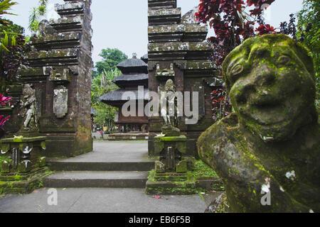 Pura Luhur Batukau temple, Bali, Indonesia - Stock Photo