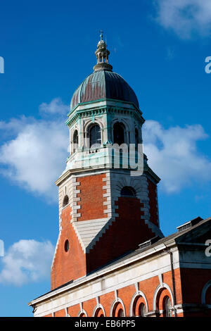 ROYAL VICTORIA PARK CHAPEL BELL TOWER - Stock Photo