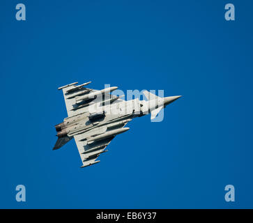 Eurofighter Typhoon FRG4 Military Fast Jet Fighter.  SCO 9196. - Stock Photo