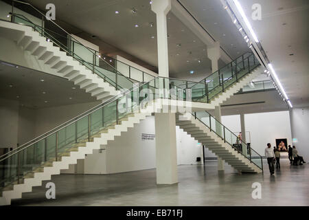 Interior of the Berlinische Galerie. A museum of modern art, photography and architecture in Berlin, Germany - Stock Photo
