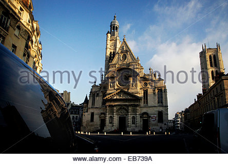 Saint-Etienne du Mont church, Paris. - Stock Photo