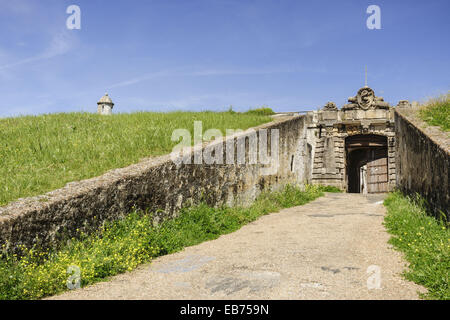 Forte de Nossa Senhora da Graça ( Forte Conde de Lippe ) built by the Count of Lippe in the 18th Century. Elvas - Stock Photo