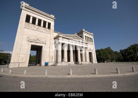 Germany, Bavaria, Munich, Koenigsplatz Square, Propylaea Building. - Stock Photo