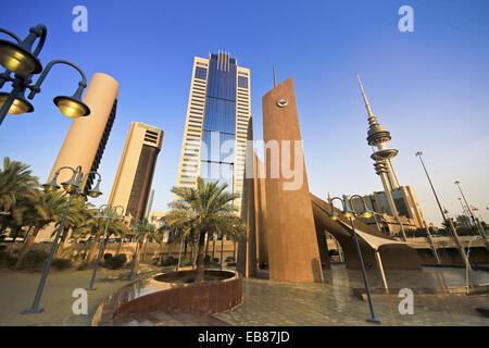 Kuwait, Kuwait City, downtown - Stock Photo