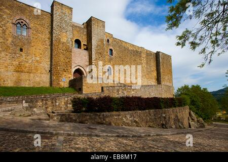 Italy, Basilicata, Castel Lagopesole, castle of Federico II. - Stock Photo