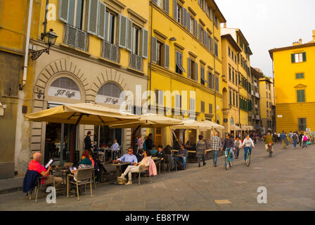 Piazza de Pitti, Oltrarno district, Florence, Tuscany, Italy