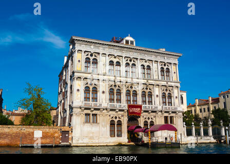 Casino di Venezia, Canal Grande, Cannaregio, Venice, Italy - Stock Photo