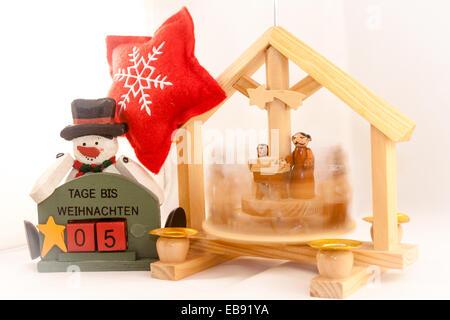 5 days at Christmas - Stock Photo