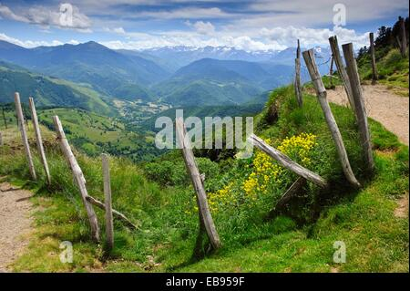 Col d´Aspin  Park National des Pyrenées  Francia. - Stock Photo