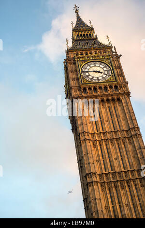 The Big Ben clock tower n London, England, UK, now officially known as Elizabeth Tower. - Stock Photo