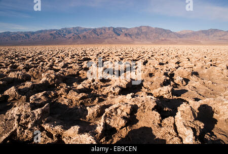 Walking through these basalt formations can be hazardous - Stock Photo