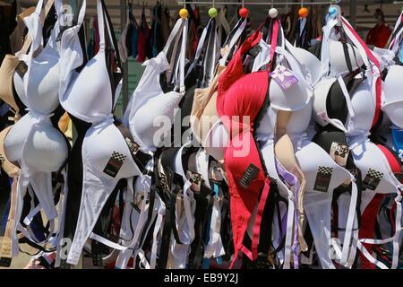 Fasteners, Praza do Mercado, Muros, Ria de Muros e Noia, A Coruña province, Galicia, Spain. - Stock Photo