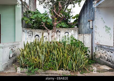 The Cuban Five ´Heroes´ Held in U S Prisons Pinar del Rio Pinar del Río province Cuba. - Stock Photo