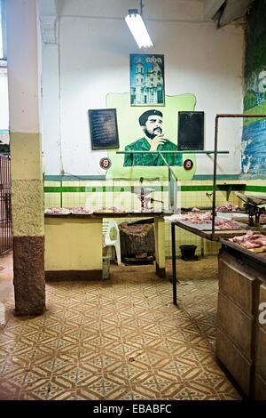 Market, Havana Vieja District, Havana, Cuba. - Stock Photo