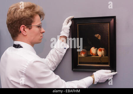 Sotheby's London, UK. 28th Nov, 2014. Sotheby's hold a preview for their December 3rd sale of Old Master and British - Stock Photo