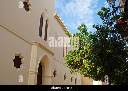Convent of Madre de Dios de La Piedad founded in 1496. Central Seville Andalucia Spain Europe. - Stock Photo