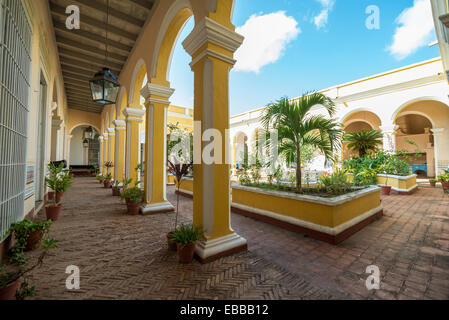 TRINIDAD, CUBA - MAY 8, 2014: Old town of Trinidad, Cuba. Trinidad is a historical town listed by UNESCO as World - Stock Photo