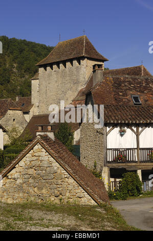 Saint Martin de Vers, Lot, France. - Stock Photo