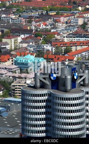 BMW plant in Munich - Stock Photo