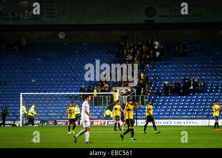 Kassam Stadium, Oxford Job name: sport Notes: FOOTBALL: Oxford United v AFC Wimbledon Pictured here is Oxford after - Stock Photo