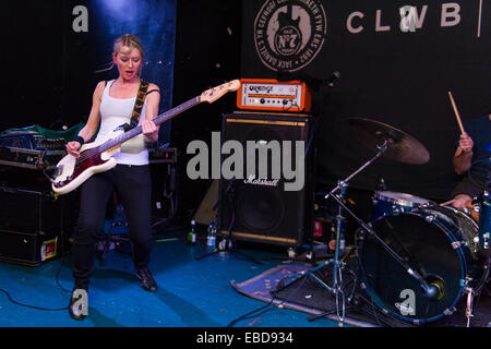 mclusky perform a reunion gig at Clwb Ifor Bach in Cardiff as part of a campaign to save Newport venue Le Pub. 15th - Stock Photo