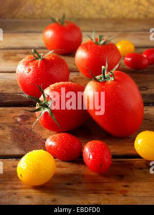 Mixed tomatoes photos, pictures & images - Stock Photo